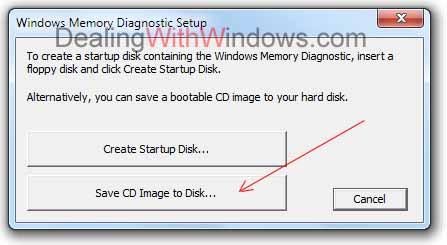 scan ram for errors