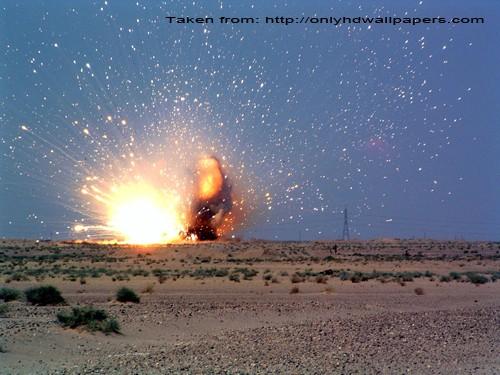 bomb explosion doom's day