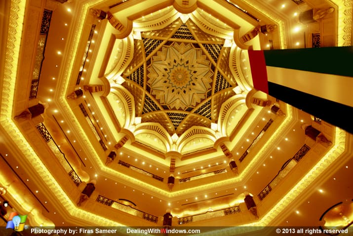 Emirates Palace Palace hotel - big dome