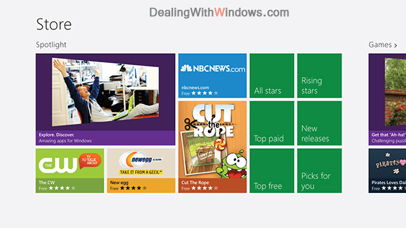 latest version of windows - Store homepage