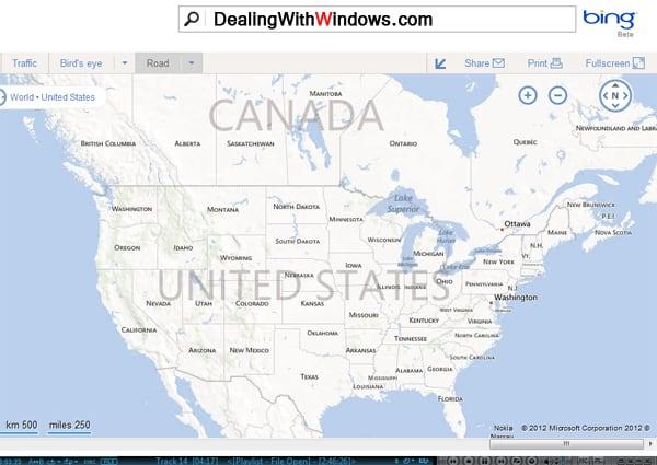 latest version of windows - bing maps